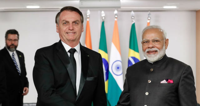 Bolsonaro India