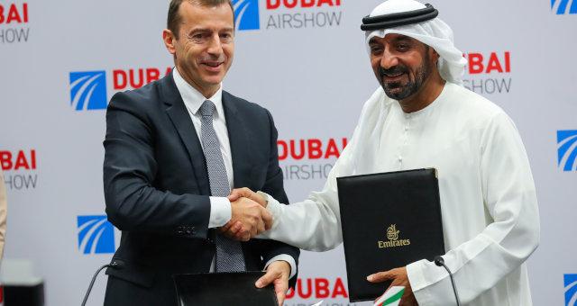 Emirates Airbus CEOs