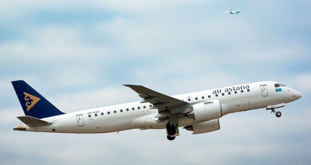 Air Astana Setor Aéreo