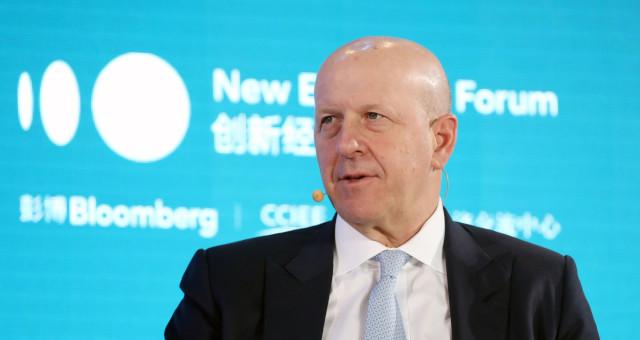 David Solomon CEO Goldman Sachs