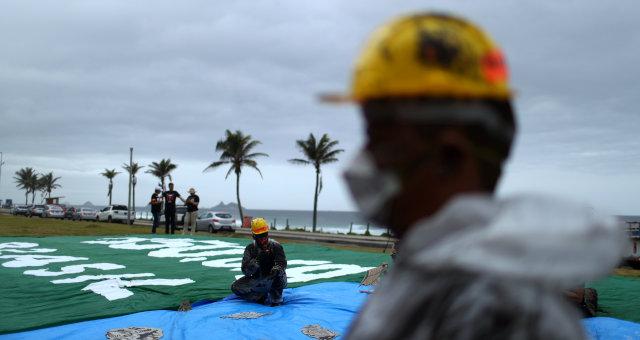 Protesto Leilão Pré-Sal Setor Petrolífero