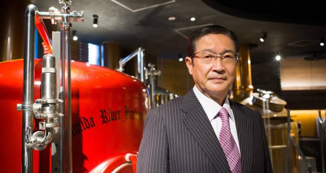 Asahi CEO Akiyoshi Koji Cervejas