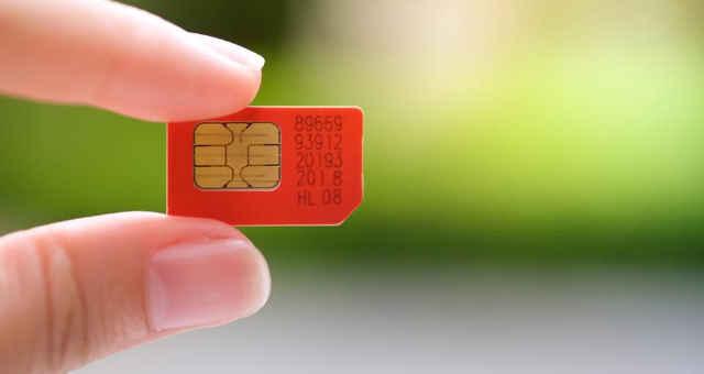 chip de celular