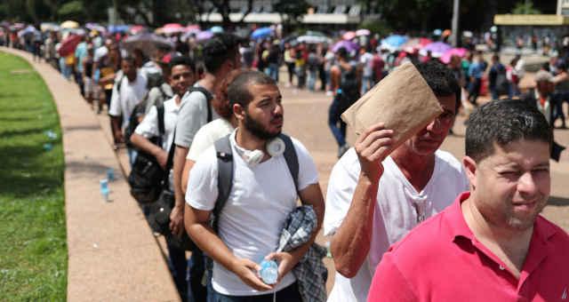 Desempregados Desemprego