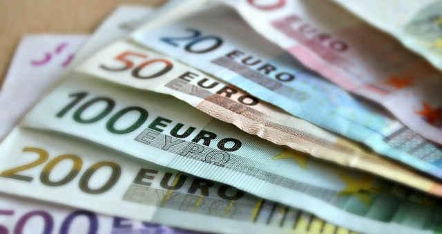 euro dinheiro cédula