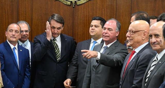Fernando Bezerra Bolsonaro Davi alcolumbre