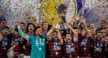 Flamengo comemora a Libertadores 2019