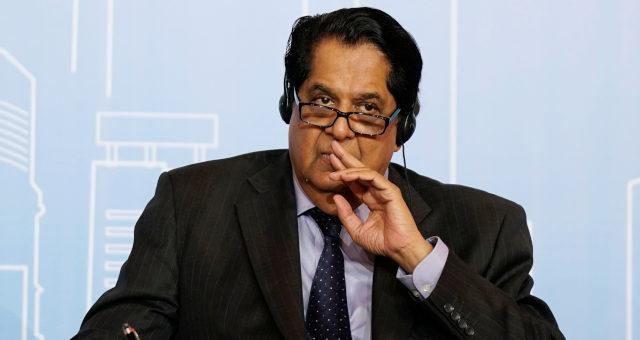 Presidente do Novo Banco de Desenvolvimento, K. V. Kamath