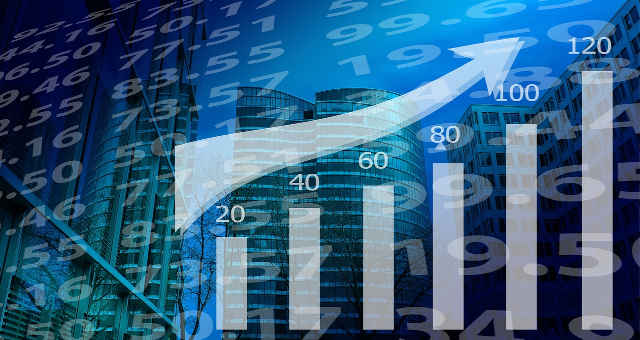 lucro finanças estatística alta mercado