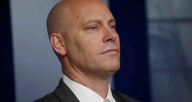Marc Short, chefe de gabinete do vice-presidente dos EUA