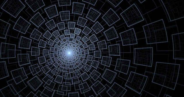 padrão abstrato tecnologia túnel