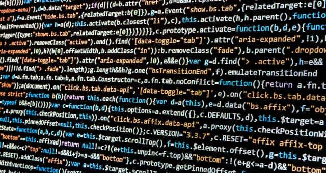 programação código computador tecnologia