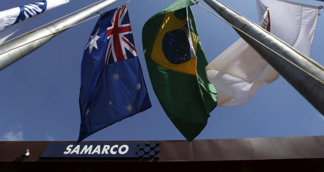 Instalações da Samarco em Mariana (MG)