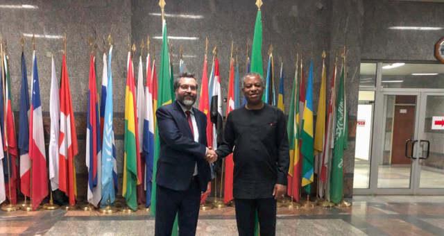 Nigéria Brasil Ernesto Araújo ministro de Negócios Estrangeiros, Geoffrey Onyeama