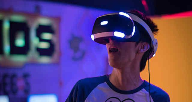 Realidade virtual com tecnologia 5G