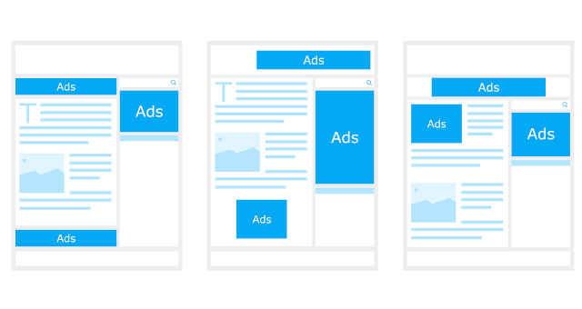 anúncio ad site internet ads