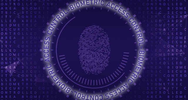 biometria acesso tecnologia impressão digital código segurança