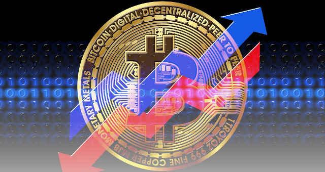 bitcoin alta baixa estatística