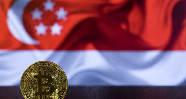 bitcoin bandeira cingapura