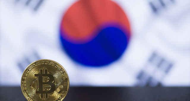 bitcoin bandeira coreia do sul