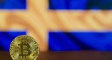 bitcoin bandeira suécia