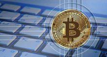 bitcoin teclado tecnologia