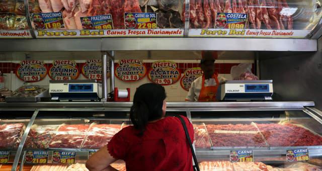 Açogue Carnes Inflação Consumidor Consumo