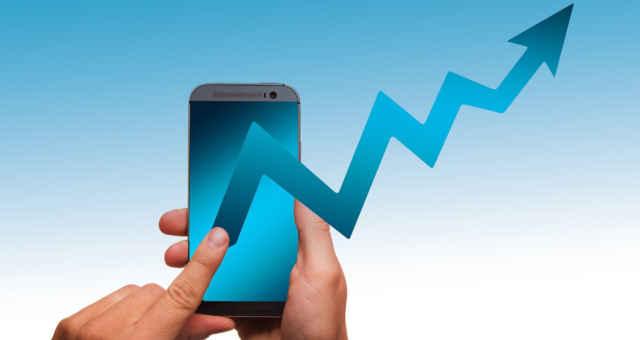 celular análise mercado estatística alta