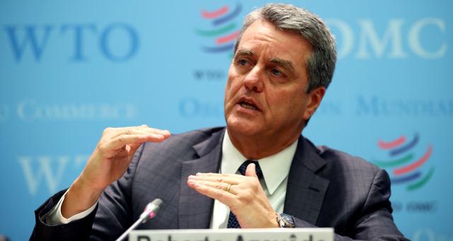 Diretor-geral da OMC, Roberto Azevêdo