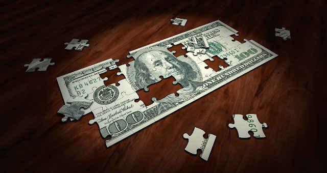 dólar peças problema solução quebra-cabeça