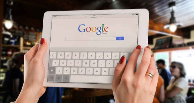 google search pesquisa tablet