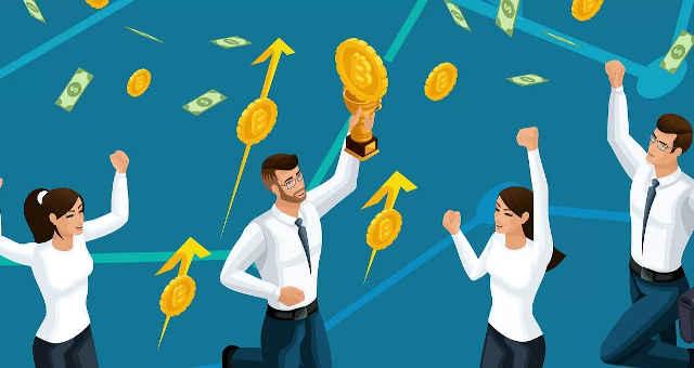 investidor bitcoin felicidade