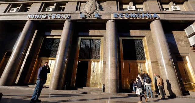 Sede do Ministério da Economia argentino, em Buenos Aires