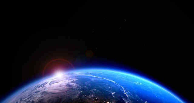 mundo planeta atmosfera terra