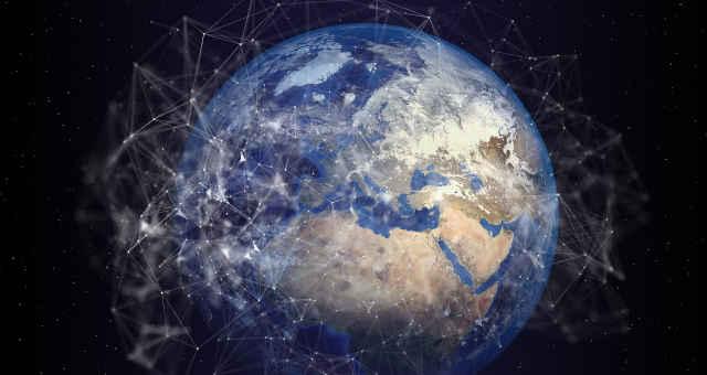 mundo rede tecnologia conexão ligação