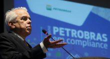 Roberto Castello Branco, CEO da Petrobras, discursa durante evento da empresa no Rio de Janeiro