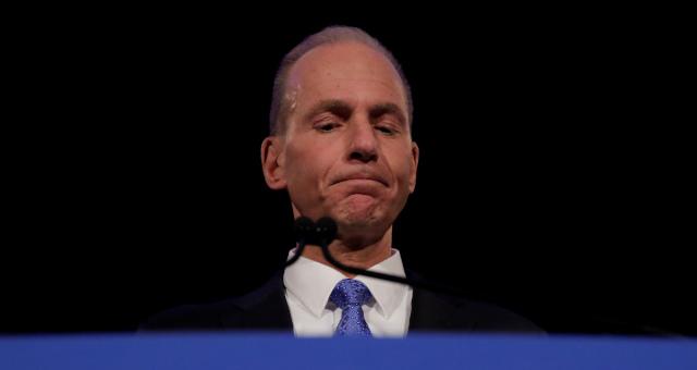 Presiden-executivo da Boeing, Dennis Muilenburg