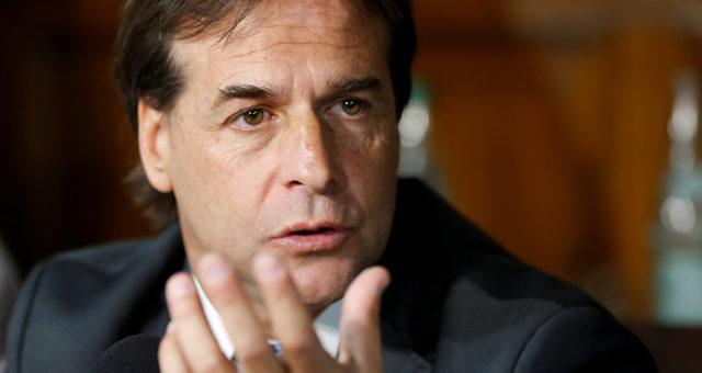 Presidente eleito do Uruguai, Luis Lacalle Pou
