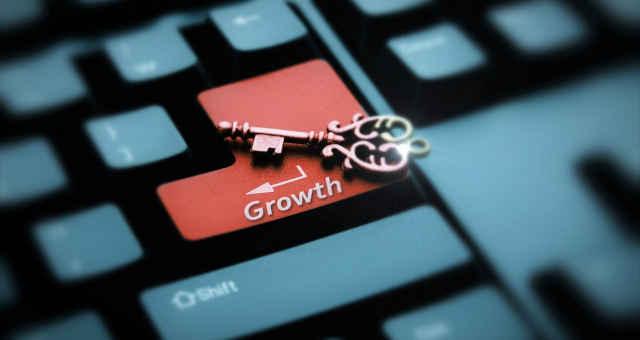 teclado crescimento chave