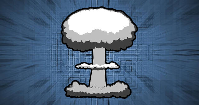 tecnologia fim explosão