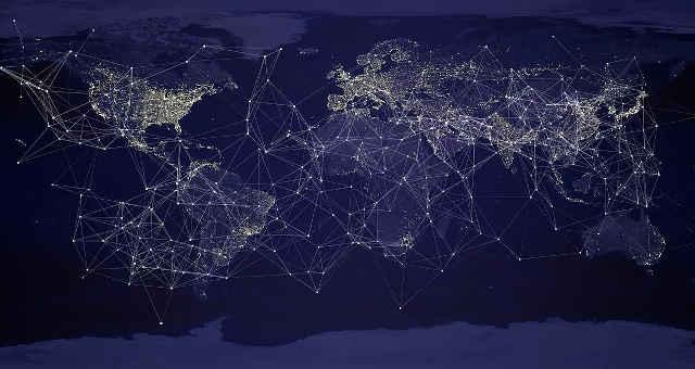 tecnologia rede mundo nós blockchain