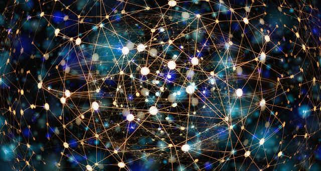 tecnologia rede nós comunicação mundo