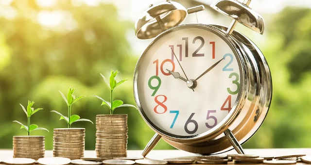 tempo moedas poupança