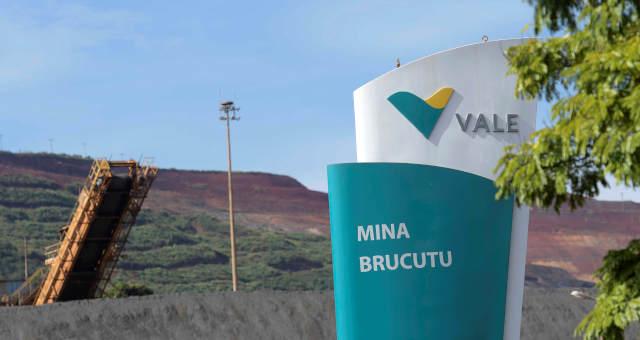 Entrada da mina de Brucutu, da Vale, em São Gonçalo do Rio Abaixo (MG)