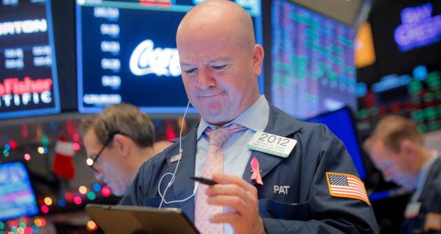 peradores na bolsa de valores de Nova York (EUA)