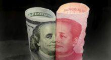 Moedas Yuan Dólar Guerra Comercial