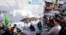 Greta Thunberg Meio Ambiente Protestos Davos World Economic Forum