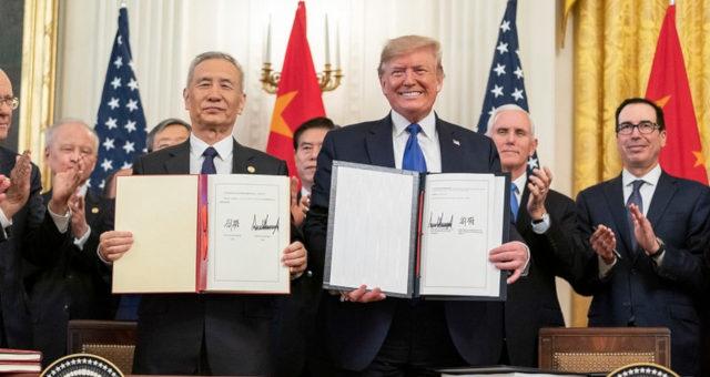 Lui He Donald Trump EUA China Guerra Comercial