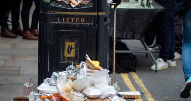 Lixo Poluição