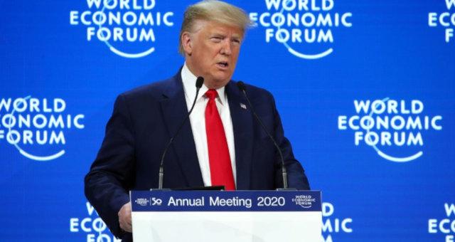 Fórum Econômico Mundial Davos Donald Trump
